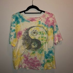 Urban Outfitters ying yang tie die shirt